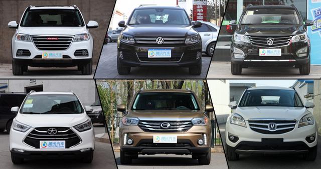 8月热销城市SUV车型推荐 自主成统治地位