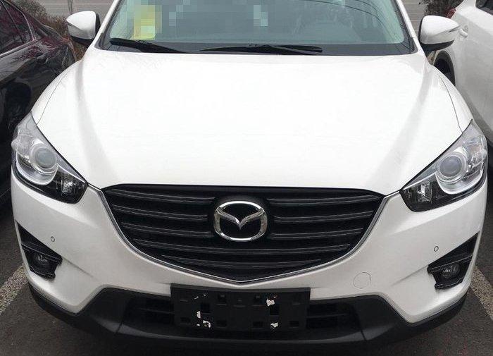 白色马自达CX-5 提车作业分享