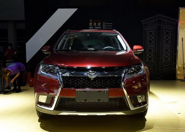 北汽2018款幻速S6X亮相 外观/设置小改