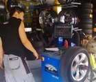 换到前轮的轮胎要做动平衡