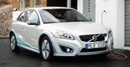 沃尔沃C30纯电动车 展现零排放环保战略