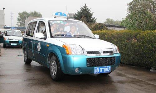 延庆县将新增100辆2.0版迷迪电动出租车