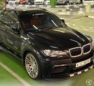 迪拜停车场 实拍HAMANN改装 BMW X6M