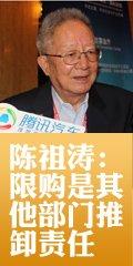 陈祖涛:限购是其他部门推卸责任