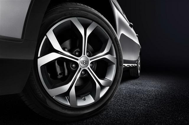 吉祥跨界SUV车型S1 细节图曝光 10月接受预定