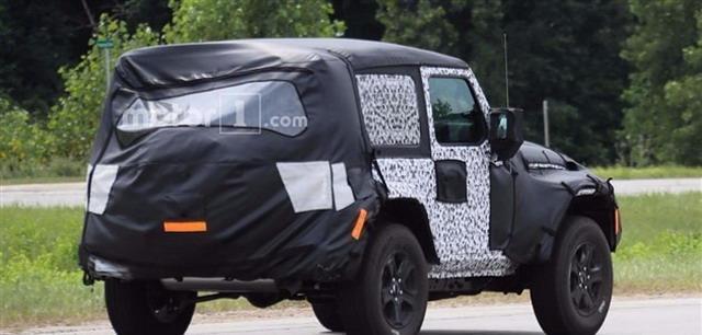 Jeep牧马人口双门软顶版谍照 将于11月表态