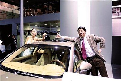 看的不只是车 捕捉北京车展精彩瞬间