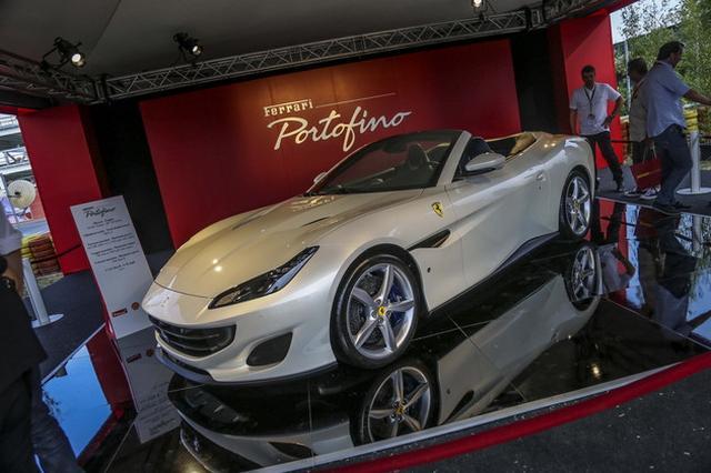 法拉利70周年庆典 新车Portofino亮相