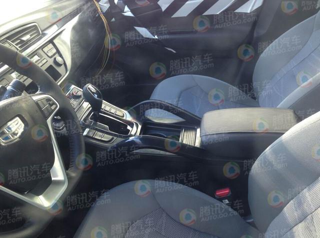 吉利全新SUV低伪谍照曝光 搭载1.8T动力