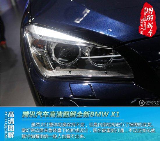 华晨宝马新BMW X1广州车展亮相高清图片