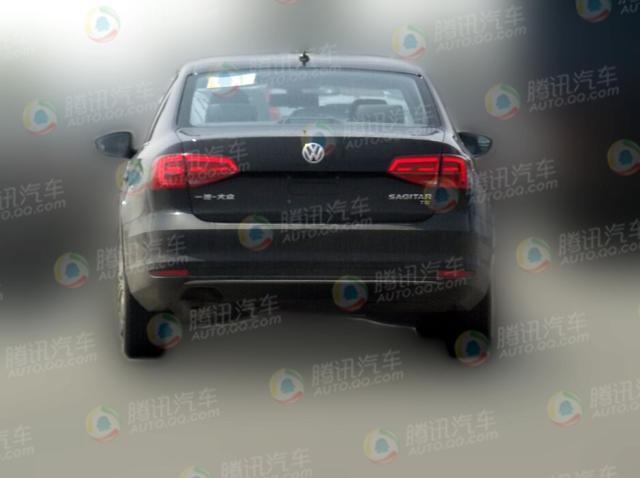新速腾1.2TSI测试车谍照曝光 或为蓝驱车型