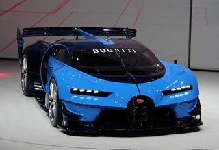 布加迪发布Vision GT概念车 Chiron雏形