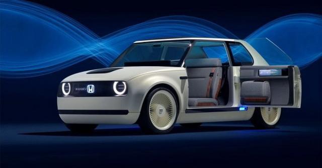 本田Urban EV观点车官图 将于2019年量产