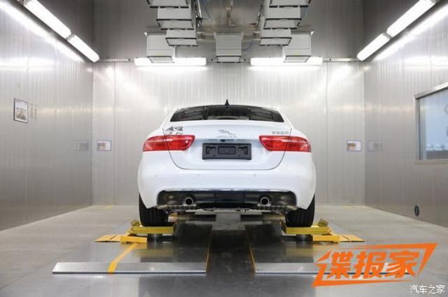 轴距超奥迪A4L 国产捷豹XEL实车曝光