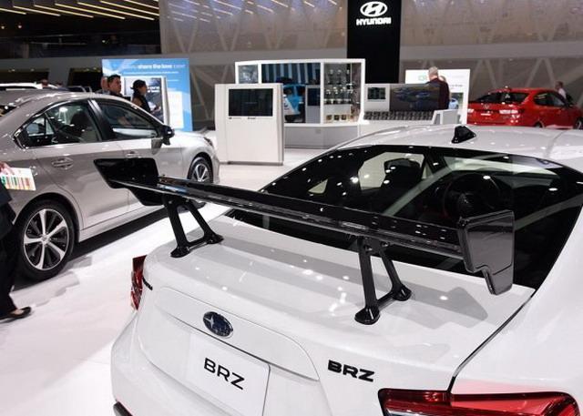 斯巴鲁新款BRZ tS亮相 或限量500台