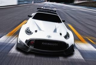 丰田S-FR赛道版概念车发布 2016年亮相