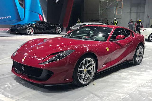 上海车展探营:法拉利812 Superfast出现