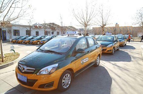 交通部:拟更新出租车为新能源汽车的城市超过20余个