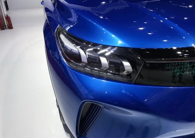广汽丰田E Concept观点车 形状酷似传祺GS4
