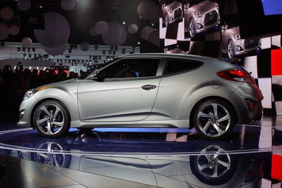 新款现代飞思亮相底特律车展 增1.6T版本