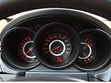 新款奇瑞A3运动式仪表盘