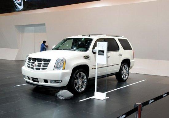 凯雷德ESV加长型车展上市 售168.8万元