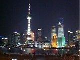 上海,华灯,璀璨。