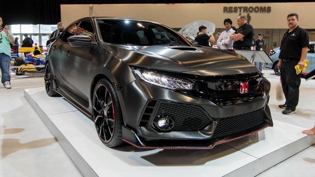 本田新思域Type R亮相SEMA改装车展