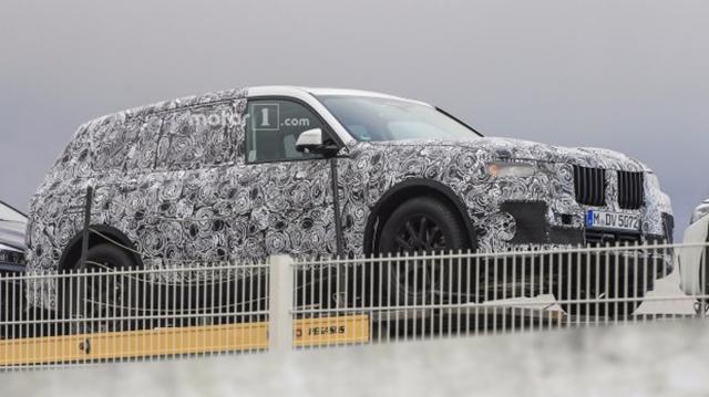 宝马X7有望衍生出轿跑SUV 或命名为宝马X8