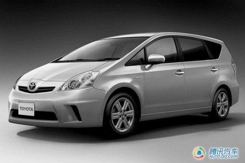 丰田普锐斯MPV车型图片曝光 明年日本上市