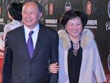 吴宇森与太太