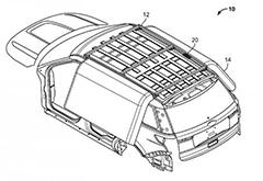 在翻车时提供保护 福特获在车顶安装安全气囊新专利
