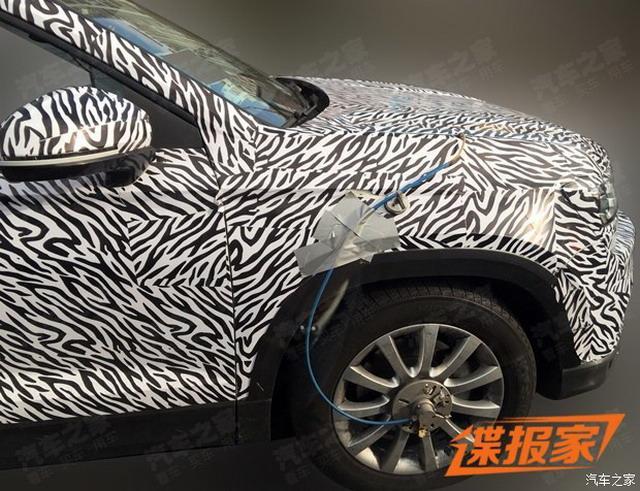 上汽大众新紧凑型SUV谍照 基于柯珞克打造