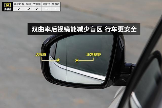 为啥汽车后视镜上有竖线 原来是这么有用的