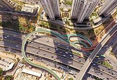惊!中国首条空中自行车道:无红绿灯狂飙