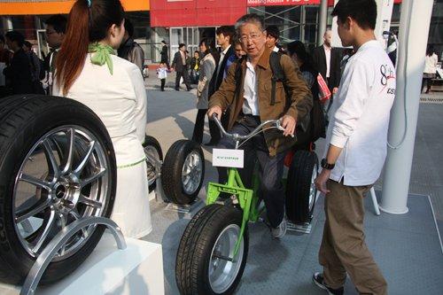 上海车展开幕 国内外轮胎企业集中亮相