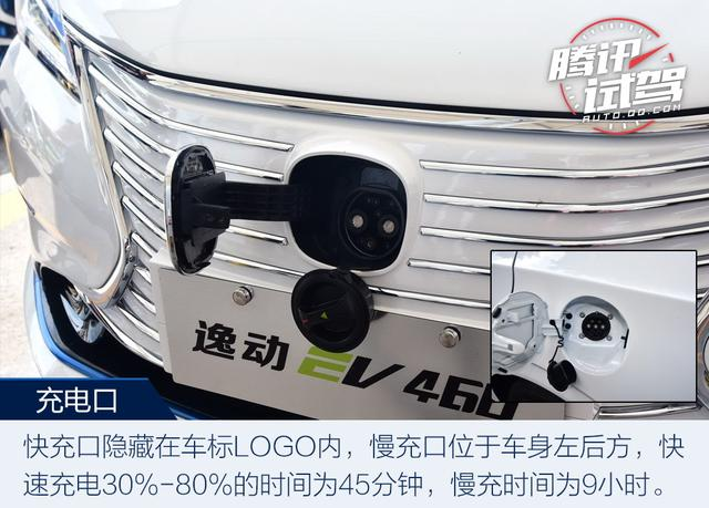 有颜值更有实力 试驾长安逸动EV460