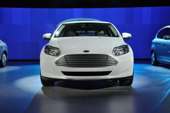 福特全新福克斯电动车亚洲首发 车展亮相