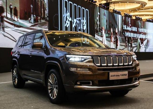 曝Jeep大指挥官部分配置信息 科技配置丰富