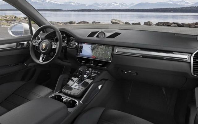 外观更凶悍 保时捷全新Cayenne Turbo公布