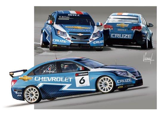 2011款WTCC科鲁兹1.6T新赛车发布