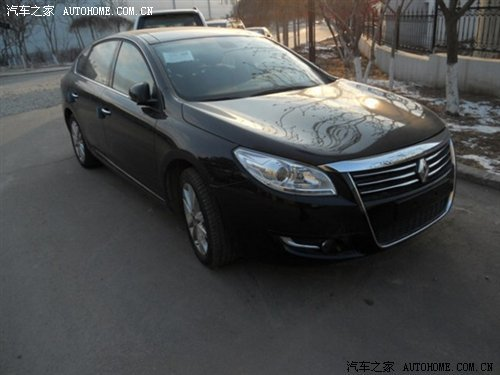 雷诺Safrane北京车展亮相 定位旗舰型