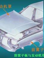 车身主要构件