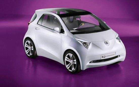 丰田电动版iq微型车2012年将在欧洲上市