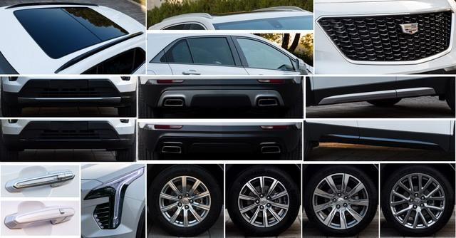 凯迪拉克XT4申报图曝光 定位紧凑型SUV