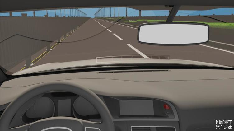 新手开车把握不好车距 详细图解车轮位置 实用