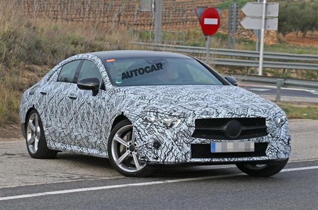 疾驰将推油电混淆车型CLS53 AMG 或明年上市