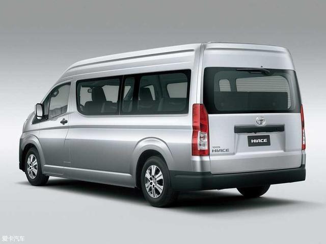 丰田新一代HIACE正式发布 多种车身选择