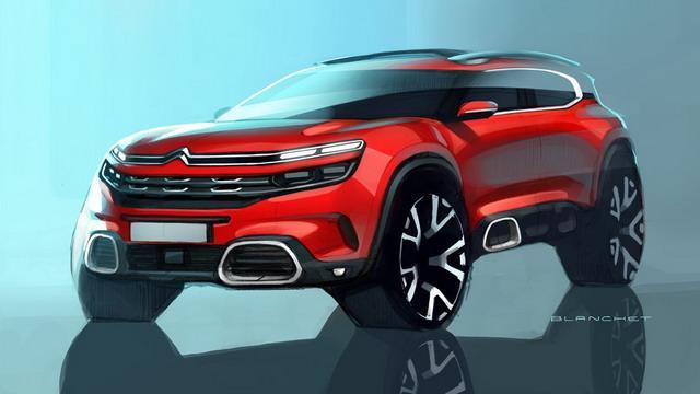 雪铁龙全新SUV定名C5 Aircross 上海车展首发
