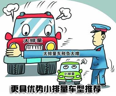 应对车船税 哪些车型有优势